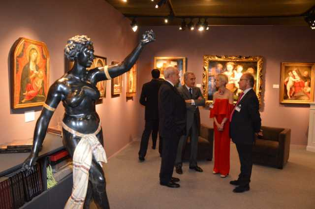 """European Art Fair"" Grimaldi Forum Monaco - le 20 juillet 2016"