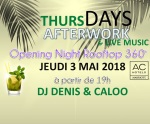 Opening Night - AfterWork - Live DJ - Rooftop Nice mai 2018