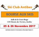 bourse aux skis Antibes 2017